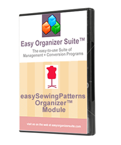 Picture of easySewingPatterns Organizer™ Module - Pro Edition
